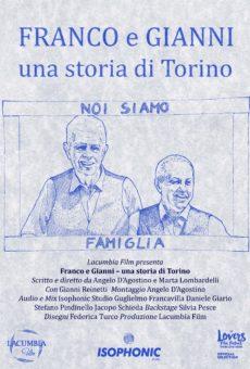 Poster Franco e Gianni Una storia di Torino Film Documentario Prima Unione Civile Locandina